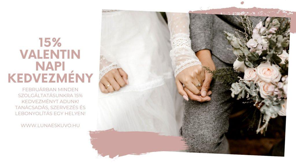 Luna Esküvő Esküvőszervezés Február Reklám Ajánlat